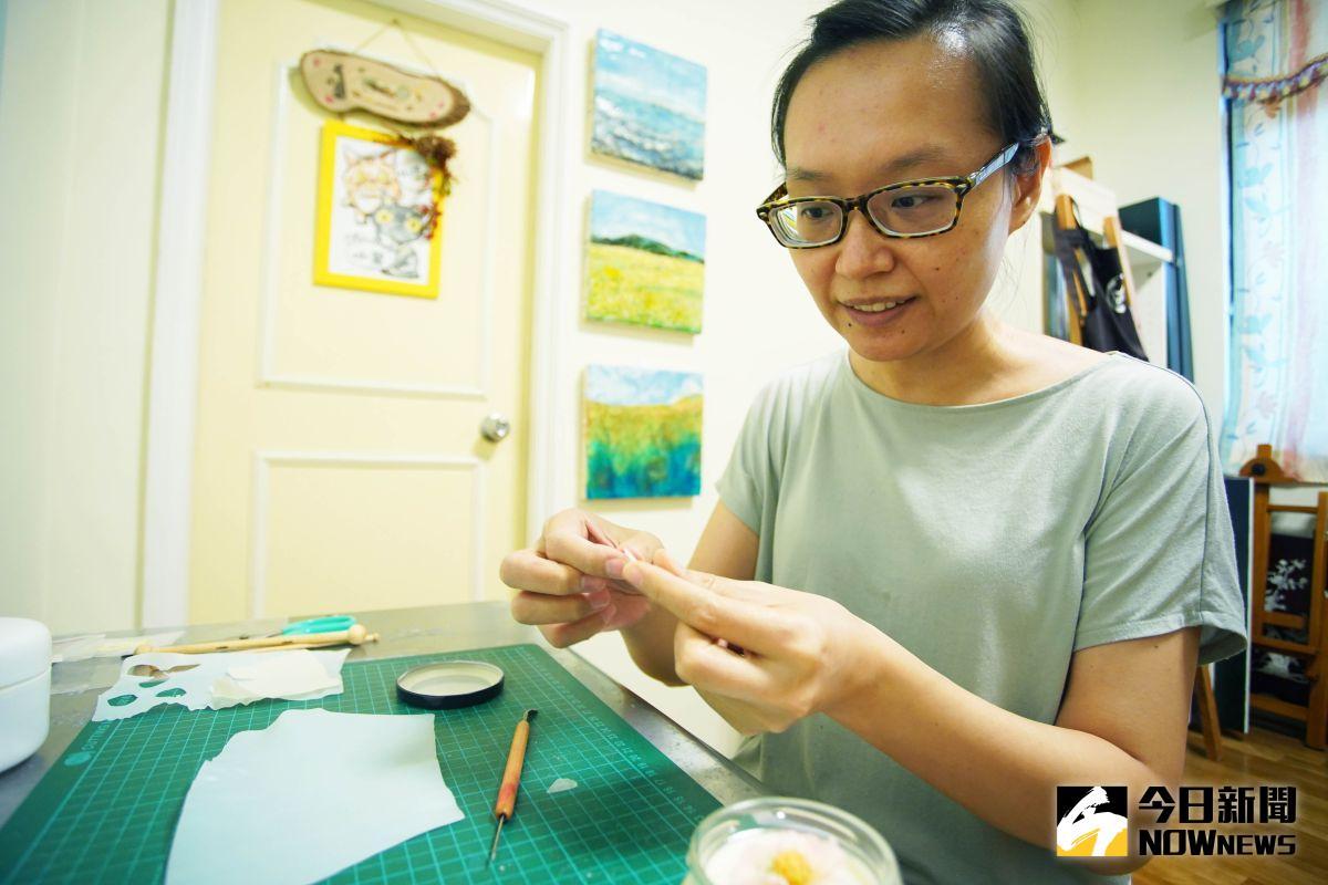職人專訪》喜愛一個人工作 洪淑貞開創蜂蠟創作新天地