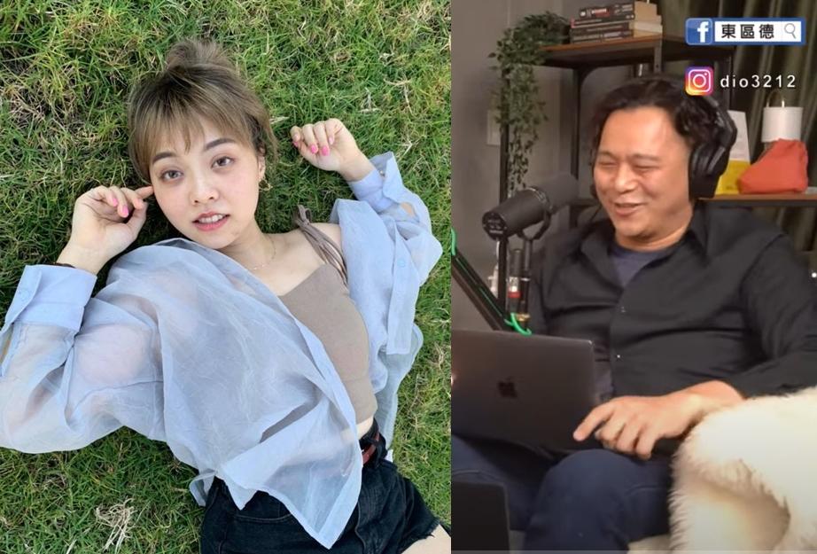 ▲龍龍今天生日,東區德直播還為她唱了生日快樂歌。(圖/翻攝龍龍FB、東區德YouTube)