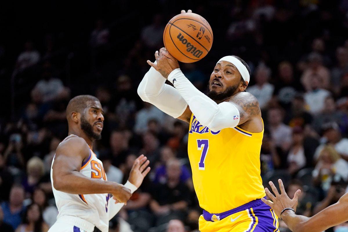 NBA/甜瓜湖人首秀搭檔AD 默契不會一夜誕生