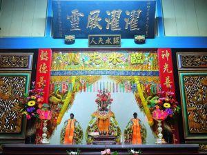 ▲臨水夫人在台灣有鼎盛香火。(圖/WIKI共享資源,雲角攝)