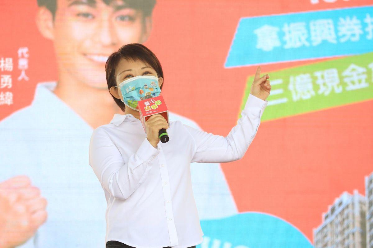 ▲台中購物節公布第二代言人為奧運奪牌柔道選手楊勇緯(圖/柳榮俊攝2021.10.7)
