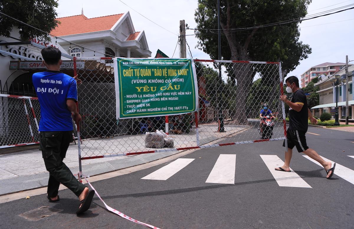 ▲越南胡志明市以及周邊地區自10月1日起解除封城限制。(圖/美聯社/達志影像)