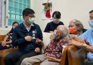 ▲100歲的張簡詹清葉奶奶。(圖/高雄市社會局提供)