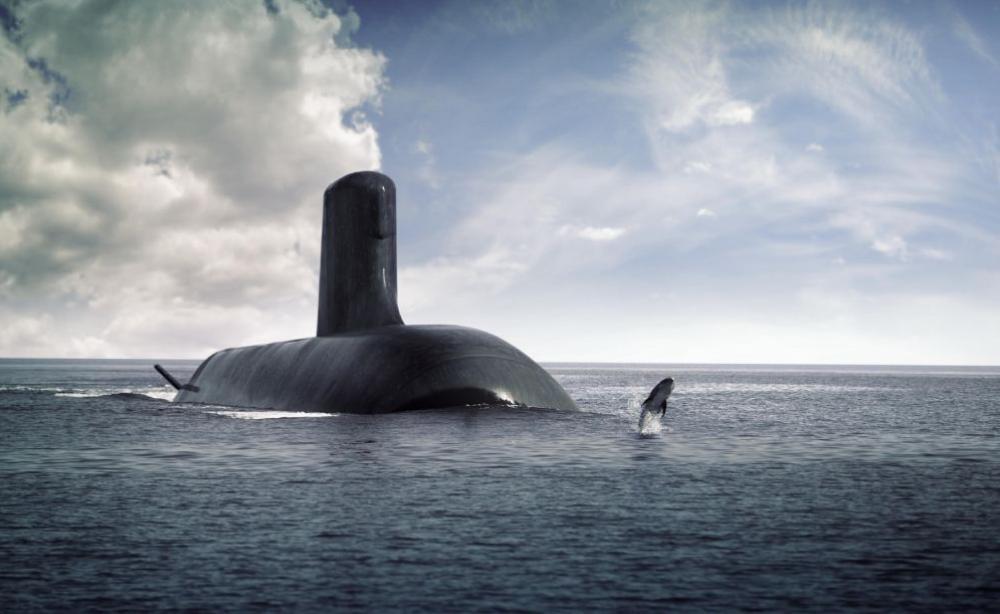 ▲法國蘇佛朗級(Suffren Class)潛艦遭澳洲取消訂單。(圖/法國DCNS)