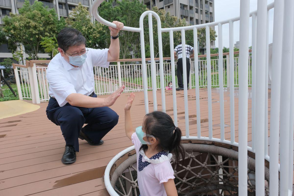 竹縣AI智慧園區公園 漆料合格遊具安全親子安心玩