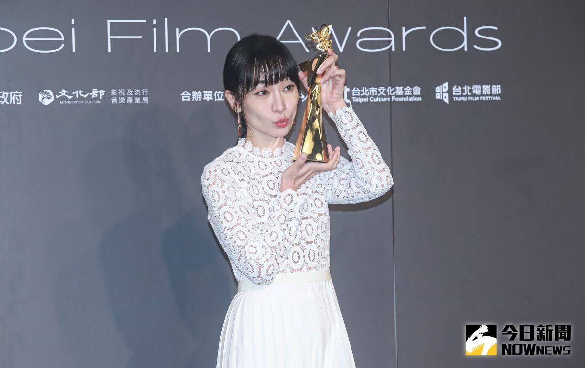 台北電影獎/勇奪影后 陽靚甜謝男友「我第一個粉絲」