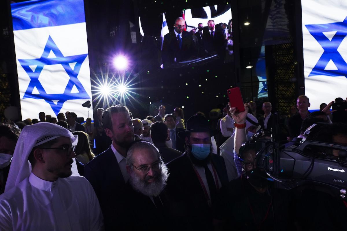 ▲杜拜2020世博會因疫情延後一年,展期於10月1日至明年3月31日,是史上第一次在阿拉伯國家舉辦世博會。這場規模盛大的文化和文明盛會集聚來自全球逾190個國家與會,也是以色列首次於阿拉伯國家設館參展受矚目。(圖/美聯社/達志影像)