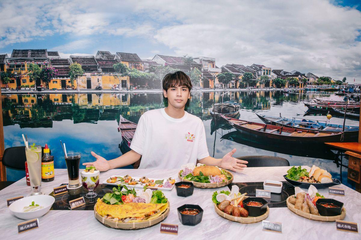 ▲陳零九投資的越南餐廳台北店,店址在老蕭的日式料理餐廳對面。(圖/會安越南料理提供)