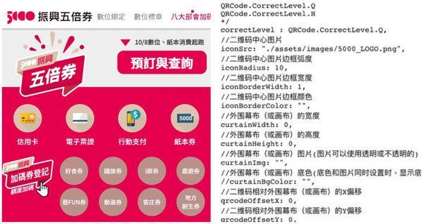 五倍券網站程式碼含簡體字!高虹安狠酸:作弊連名字都抄