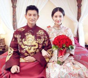 ▲吳奇隆和劉詩詩結婚6年感情非常甜蜜。(圖/翻攝《圈內少年》微博)