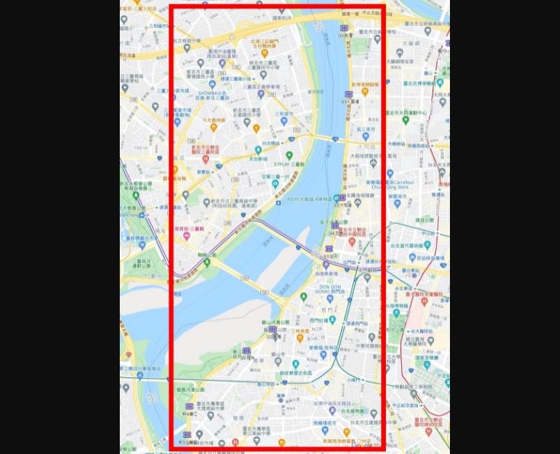 ▲圓規颱風雨勢明顯,北市府宣布22時起關閉淡水河沿線疏散門。(圖/北市府提供)