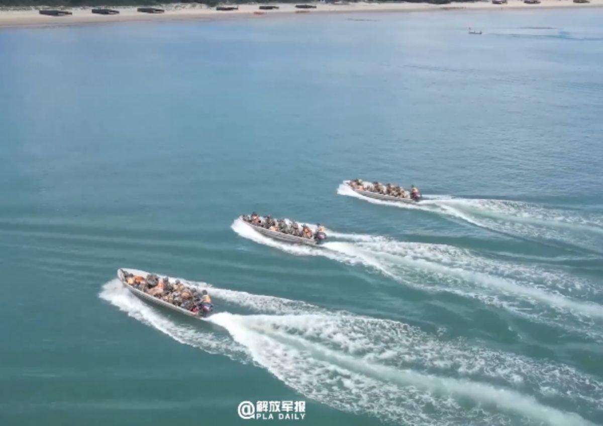 加強對台施壓?解放軍:近日在福建進行搶灘演練