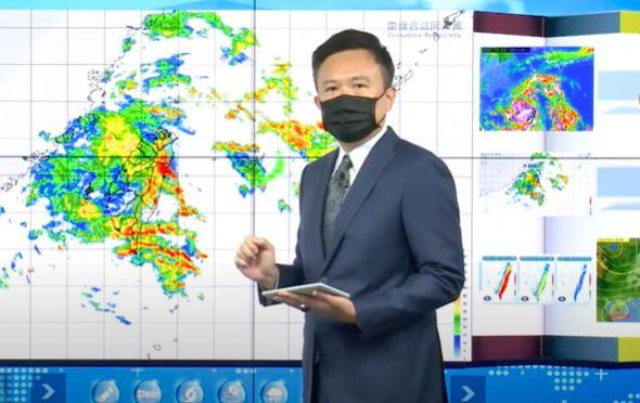 圓規雨量驚人 氣象局估東半部最大降雨量恐達300毫米