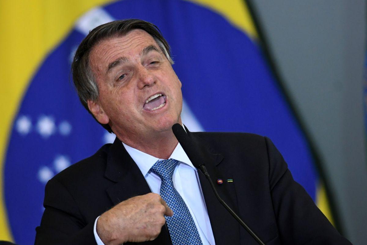 ▲巴西總統波索納洛在新冠疫情的防治態度上,一直都有很多爭議。資料照。(圖/美聯社/達志影像)