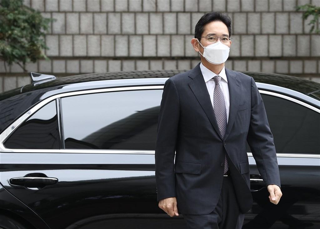 ▲韓國三星電子集團副主席李在鎔12日因違反「毒品管理法」出庭受審。(圖/翻攝自韓聯社)