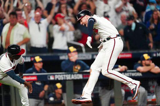 MLB/砲轟釀酒人終結者 主砲佛里曼率勇士晉級