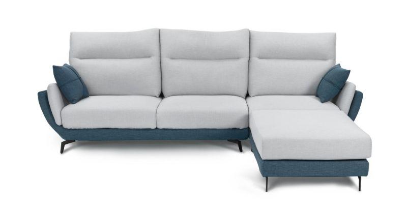 ▲「PON-ÉE 多功能涼感布沙發」座墊可滑出,符合人體工學,窄扶手打造出更寬敞的舒適座椅空間,耐汙防潑水涼感布,全套可拆洗。(圖/品牌提供)