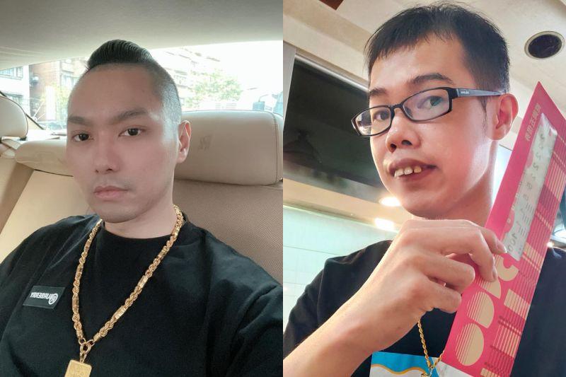 ▲鄧佳華(右)惹怒連千毅。(圖/連千毅、鄧佳華臉書)