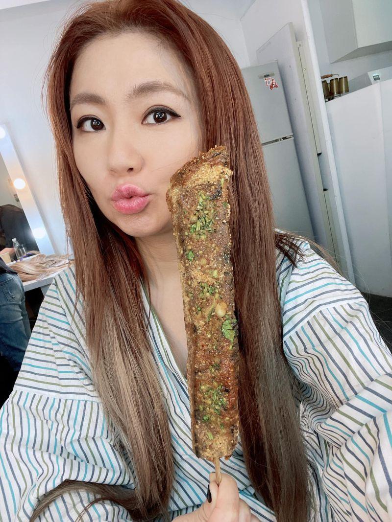▲Selina透露自己很愛吃糯米製品。(圖/翻攝Selina臉書)