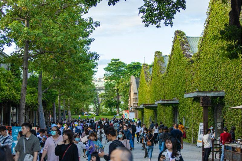 ▲「裏山」相鄰華山藝文特區,在藝術薰陶下提升生活品質。(圖/廣陞建設提供)