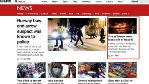 ▲▲外媒報導高雄城中城大火。(圖/翻攝自《BBC》)