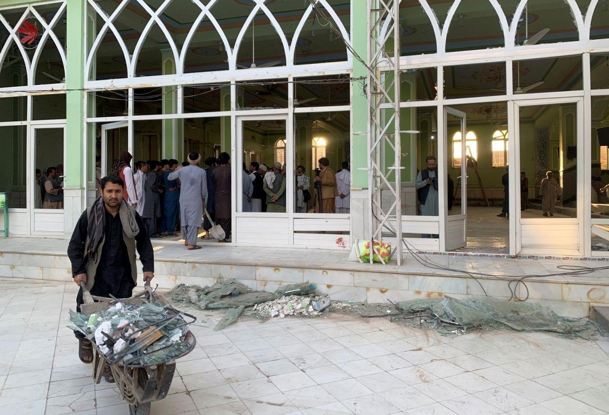 阿富汗清真寺遇襲41死70傷 伊斯蘭國宣稱犯案