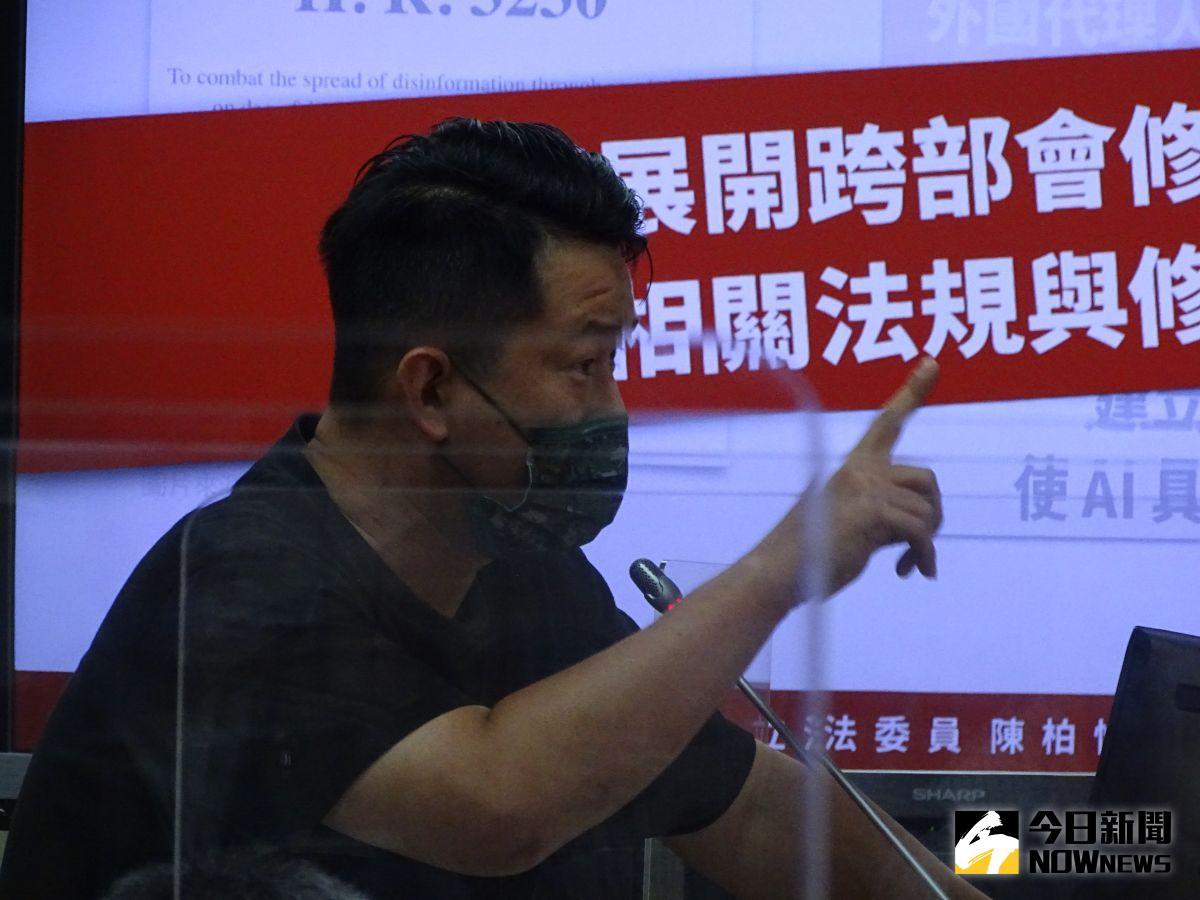 陳柏惟被罷免陷國安危機?資深媒體人打臉:不懂立院運作