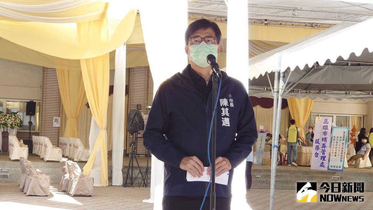 議員要求「揮淚斬馬謖」 陳其邁:現在喪葬、撫慰最重要