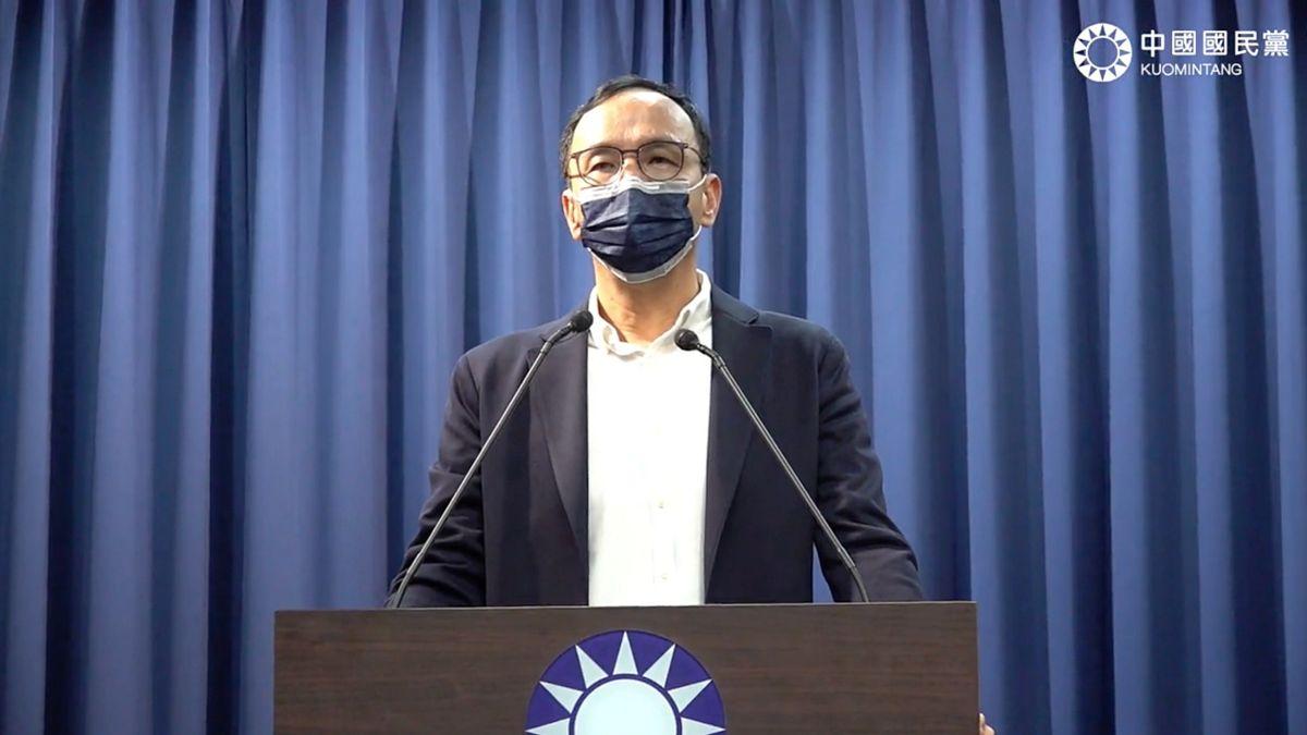 民進黨操作抗中保台挺3Q 朱立倫:意識形態終究被揚棄