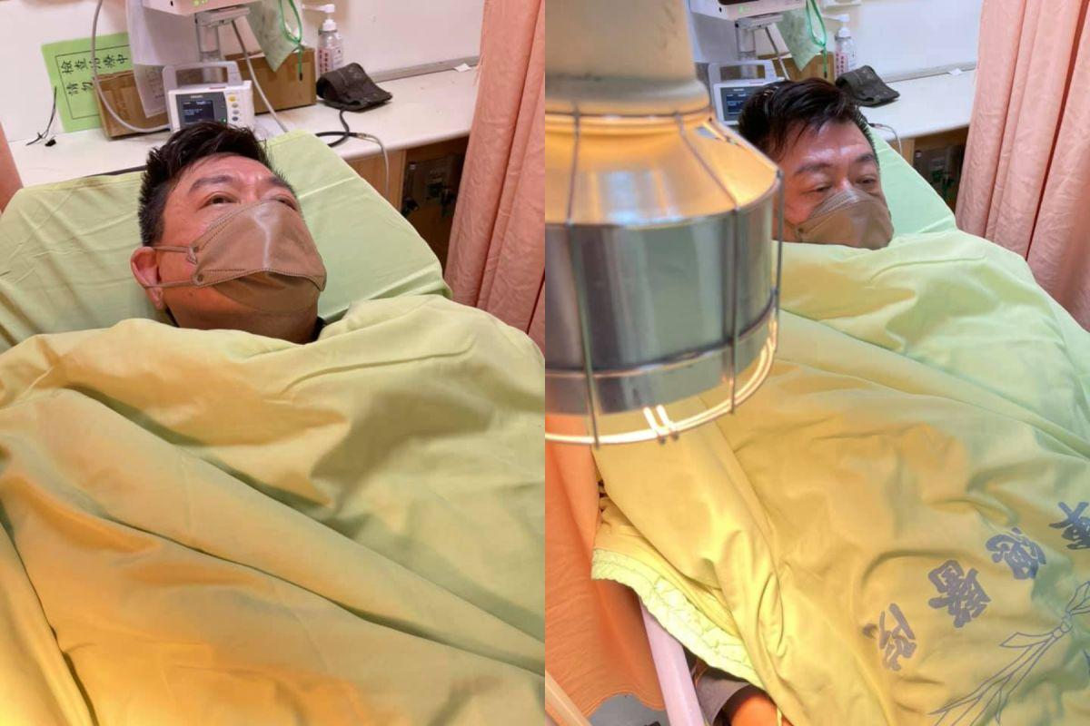 孫德榮半夜發燒掛急診 「有腎衰竭跡象」遭強制住院